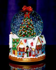 Image detail for -Christopher Radko Small Dickens Village Snow Globe traditional holiday . Christmas Snow Globes, 1st Christmas, Christmas Wishes, Chrissy Snow, Globe Art, I Love Snow, Globe Ornament, Water Globes, Christian Christmas