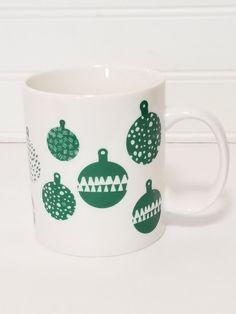 PFALTZGRAFF Garden Of Eden Coffee Cup Mug Garden Birdhouse Green White