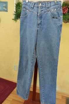 Rockies Relaxed Fit Classic Long Rise Jeans 9/10 Broken In Comfy Soft Casual #Rockies #BootCut