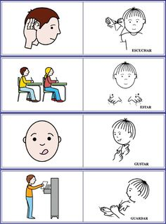 Baby Singing, Learn Sign Language, Signs, Speech Therapy, Clip Art, Comics, Learning, Hacks, Sign Language