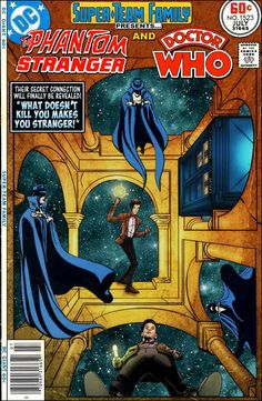 Super-Team Family: The Lost Issues!: The Phantom Stranger and Doctor Who