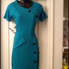 Dresses & Skirts - Green Professional Dress