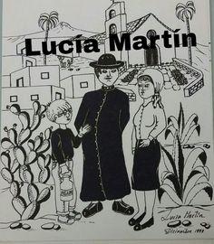 """Ilustración de Lucía Martín para el cuento """"Entre sueños santos y ardillas"""" de J.Nieto"""
