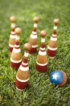 Let the lawn games begin! #potterybarn