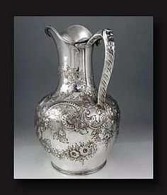 Tiffany Antique Sterling Pitcher.