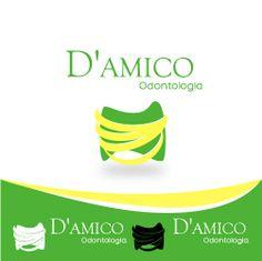 Criação e desenvolvimento da logo, para o consultório Odontológico : D' Amico