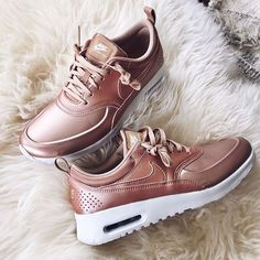 Rose gold Nikes More