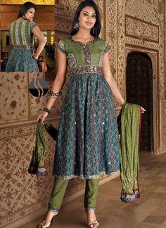 Elegant Anarkali Dress