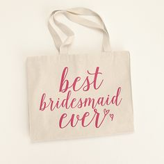 Searching for the best bridesmaid gift ideas? Shop at David's Bridal to find affordable & unique bridesmaid gifts that your bridal party will love today! Bridesmaid Makeup Bag, Bridesmaid Gifts Unique, Bridesmaids, Wedding Favor Bags, Wedding Gifts, Wedding Day, Dream Wedding, Vintage Bridal, Davids Bridal