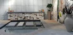 Our beautiful new showroom pool area displaying our beautiful cladding, copings and step pavers. Visit www.revelstone.co.za News Space, Cladding, Showroom, Display, Beautiful, Floor Space, Billboard, Fashion Showroom