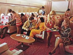 Continental Airlines DC-10 First Class