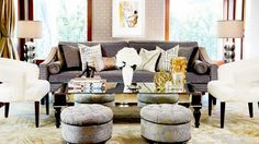 Home of Jessica Alba #celebrityhouses #jessicaalba #interior #celebrityinterior #living #hollywood