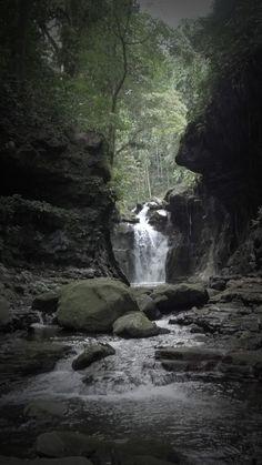 one of the hidden falls. Hidden Valley Laguna, Philippines.