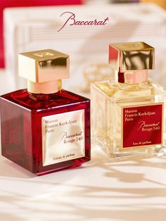 The Baccarat Rouge 540 extrait de parfum augments the strength and radiance of the fragrances amber woody floral aura. Perfume Scents, Perfume Bottles, Beauty Over 40, Francis Kurkdjian, Victoria Secret Fragrances, Best Perfume, Perfume Collection, Smell Good, Beauty Secrets