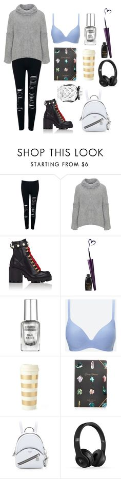 """""""what a nice day!"""" by msslow ❤ liked on Polyvore featuring WithChic, Amandine, Gucci, Uniqlo, Kate Spade, Ted Baker and Victoria's Secret"""