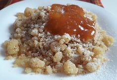 Császármorzsa - Smarni recept egyszerűen - MesiNasi - Sütemény és Egyszerű Étel Receptek Oatmeal, Food And Drink, Rice, Yummy Food, Breakfast, Sweet, Recipes, Cakes, Google