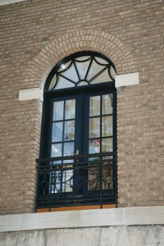 Porte francaise avec imposte - French door with transom