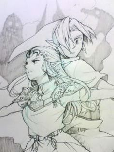 Legend of Zelda | Link & Princess Zelda