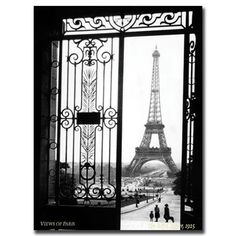 Top Product Reviews for Sally Gall 'Views of Paris' Gallery-wrapped Art - Overstock.com