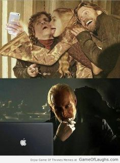 Tywin Lannister keeps a watch over everyone! - Game Of Thrones Memes