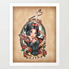 Waiting For Loves True Kiss Art Print by Tim Shumate - $19.76