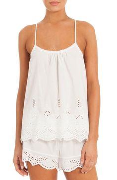 In Bloom by Jonquil Eyelet Pajamas available at #Nordstrom. $54