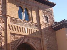 Una puerta de la Alhambra, la del Vino