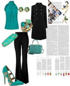"""Work & Fashion !"" by mahsaf92 on Polyvore"