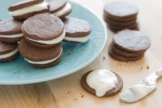 Chocolate Sandwich Cookies with Peppermint Frosting | Whole Foods Market