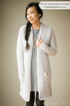 1da9876a3945b 20+ Free Crochet Sweater Patterns for Adults and Kids!