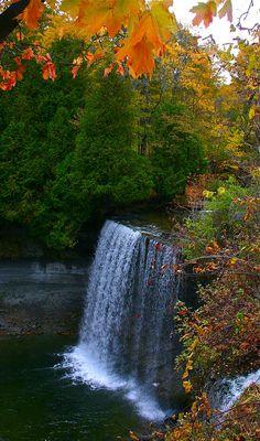 Bridal Veil Falls, Manitoulin Island, Ontario