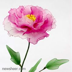 Make Artificial Flowers - Mesh Nylon Stocking Flower Tutorials