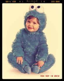 Sesame Street Cookie Monster Baby Want! Want! Want,