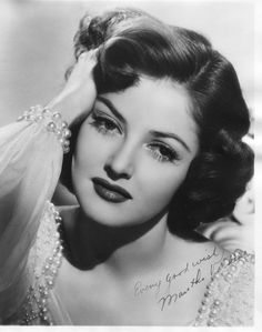 Actress Martha Vickers   May 28, 1925 – November 2, 1971 she was Mickey Rooney's 3rd wife from 1949-1951