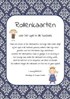 role cards game home corner toddlers Dramatic Play, Primary School, Card Games, Storytelling, Kindergarten, Preschool, Language, Teacher, Blog