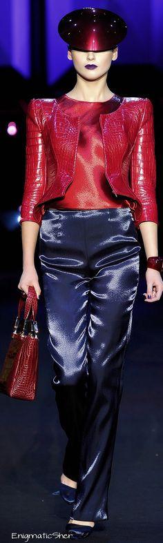Giorgio Armani Privé Haute Couture Spring Summer 2011