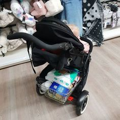things to think about when stroller shopping - storage! this pushchair has heaps of it! Best Baby Doll, Baby Dolls, Baby Doll Strollers, Phil And Teds, Welcome To The Family, Travel System, Baby Princess, 2nd Baby, Prams