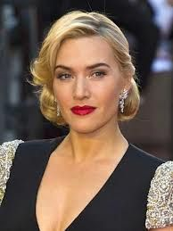 Vintage Wedding Hair Kate Winslet very hair style here. - Kate Winslet is proud to be imperfect, and we love her for it. Check out this selection of her amazing musings on body confidence and weight. Retro Hairstyles, Wedding Hairstyles, Hollywood Hairstyles, Wedding Hair And Makeup, Hair Wedding, 1950s Wedding Hair, Bridal Hair, Bridesmaid Hair, Kate Winslet