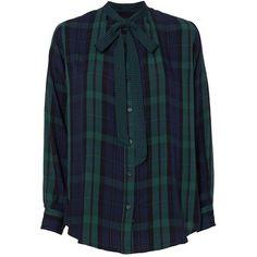 Rails Women's Corinne Plaid Shirt (10.915 RUB) ❤ liked on Polyvore featuring tops, viscose shirt, shirt top, tartan shirts, blue long sleeve shirt and rayon plaid shirt