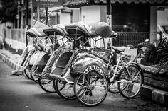 Becak | at Yogyakarta