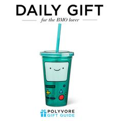 """The Daily Gift: BMO Tumbler"" by polyvore-editorial ❤ liked on Polyvore featuring interior, interiors, interior design, casa, home decor, interior decorating e dailygift"