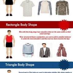 How to Dress for Your Body Type (Men)   Visual.ly