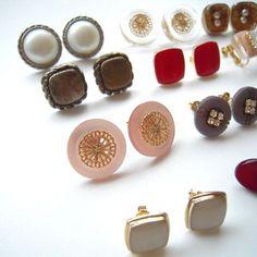 ボタンをピアスやイヤリングに作り替えたいけど、ボタン足をどう処理すればいい?というご質問にお答えします!...