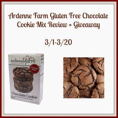 Ardenne Farm Gluten Free Chocolate Cookie Mix Giveaway!