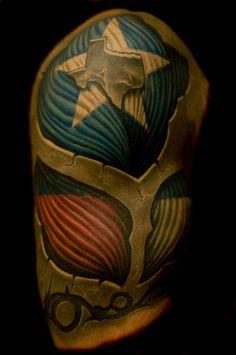 My tattoo by Mike Woods. Advent Tattoo Studio