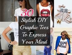 30 Stylish DIY Graphic Tees To Express Your Mind