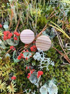 Puukorvakorut käsintehtyinä aidosta puusta. Uudenlaisen kasaustavan vuoksi liimana käytetään vain puuliimaa. Ekologista suomalaista designia. Stone, Outdoor Decor, Design, Home Decor, Rock, Decoration Home, Room Decor, Stones, Batu