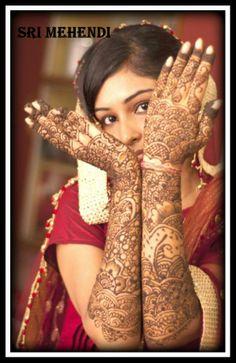 bridal mehendi by SRI MEHENDI