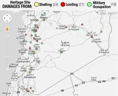 How much damage the Syrian conflict has done to its (and our) heritage
