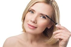 As we get older, we can fall victim to fading eyebrows as they get lighter and often turn gray. It's best to apply them to the eyebrow hair - not the skin.